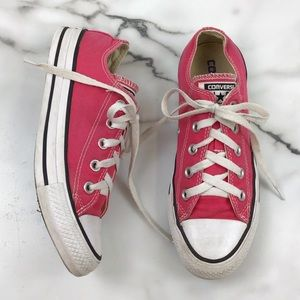 Converse All Star Pink Sneakers Unisex